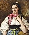 Johann Baptist Reiter Frau in oberösterreichischer Tracht.jpg
