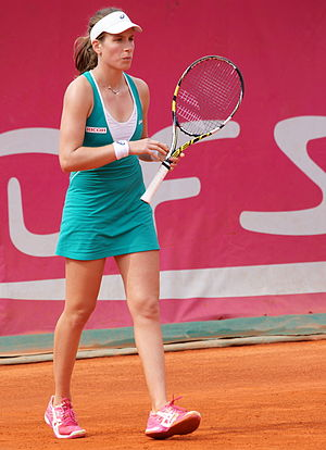 Johanna Konta - Konta at the 2014 Open GDF Suez de Cagnes-sur-Mer Alpes-Maritimes
