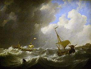 Johannes Christiaan Schotel - Storm on the Sea.jpg
