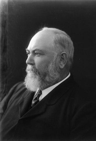 Third Deakin Ministry - Image: John Forrest 1909