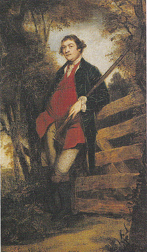 John Parker, 1st Baron Boringdon - Portrait of John Parker, 1st Baron Boringdon (1734/5-1788), by his friend Sir Joshua Reynolds (d.1792), who was born near Saltram in Plympton. National Trust, Saltram House Collection, no.29, displayed in the Morning Room, Saltram House