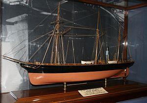 John Bowes (steamship) - Image: John Bowes model a