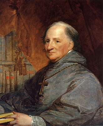 John Carroll, first Roman Catholic bishop and archbishop in the United States John Carroll Gilbert Stuart.jpg
