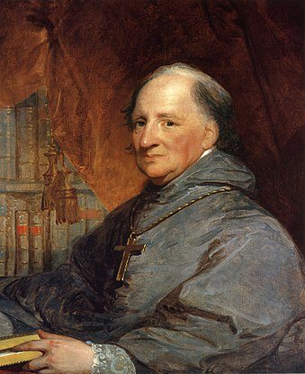 John Carroll, the founder of Georgetown University. John Carroll Gilbert Stuart.jpg