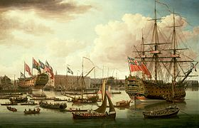 Image illustrative de l'article HMS Royal George (1756)