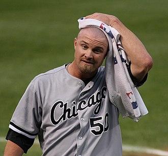 John Danks - Danks with the Chicago White Sox