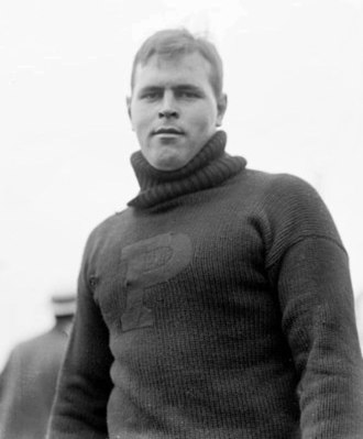 1903 College Football All-America Team - John Dewitt of Princeton.