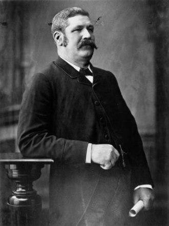 John Donaldson (Australian politician) - Image: John Donaldson Queensland Minister for Public Instruction 1889