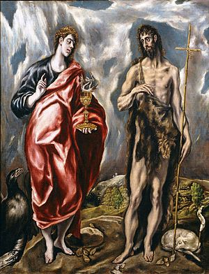 Saint John the Baptist and Saint John the Evangelist