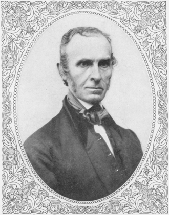 Snow-Bound - John Greenleaf Whittier, author of Snow-Bound, pictured in 1859