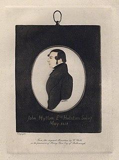 John Mytton British politician