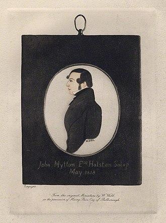 John Mytton - John Mytton, after William Webb, May 1818