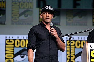 The Punisher (TV series) - Bernthal promoting The Punisher at the 2017 San Diego Comic-Con