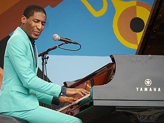 Jon Batiste - Jonathan Batiste performs at the 2014 Monterey Jazz Festival