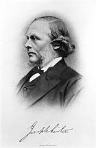 Joseph Lister, 1st Baron Lister (1827 – 1912) surgeon Wellcome L0014270.jpg