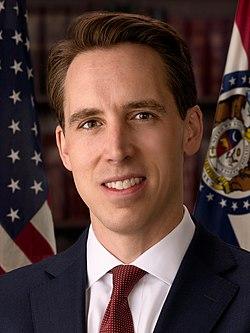 Josh Hawley, official portrait, 116th congress (cropped).jpg