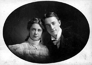 George M. Cohan - Cohan and his sister Josie in the 1890s