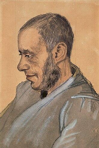 Portraits by Vincent van Gogh - Image: Jozef Blok, by Vincent van Gogh