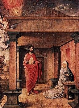 Juan de Flandes - Christ Appearing to His Mother - WGA12056