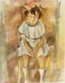 JulesPascin-1926-A Girl with a Rosy Ribbon.png