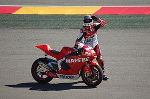 Julián Simón - Simón at the 2010 Aragon Grand Prix.