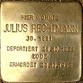Julius Rechtmann Stolperstein.JPG