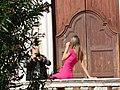 Junge Dame steht Model, Taormina, Sizilien.jpg