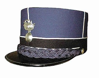 Corps of Gendarmerie of Vatican City - Kepi worn by Vatican Gendarmes.