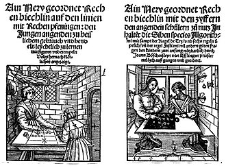 Hindu–Arabic numeral system - Image: Köbel Böschenteyn 1514