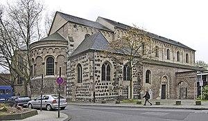 St. Cecilia's Church, Cologne - Image: Köln st cäcilien