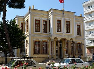 Kırklareli Museum Natural history museum, Archaeology museum, Ethnographic museum in Mustafa Kemal Bulvarı , Kırklareli