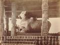 KITLV 92123 - Unknown - Nandi in Brihadishvara temple complex at Thanjavur in India - Around 1870.tif