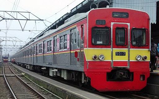 KRL Tokyo Metro 5817F 10-car