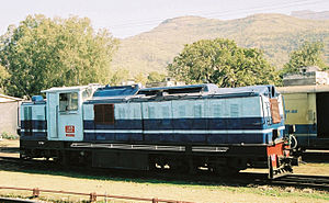 Kalka–Shimla Railway - KSR Diesel Locomotive 148