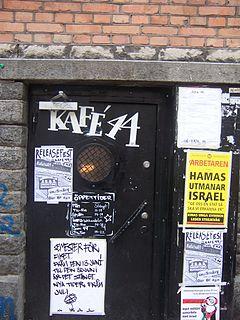 Kafé 44 café and concert place