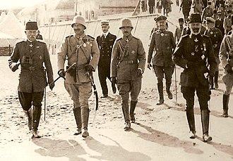 Enver Pasha - Wilhelm II and Enver Pasha in Gallipoli