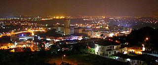 Kajang Town in Selangor, Malaysia