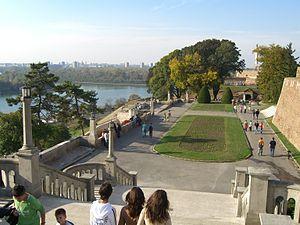 Belgrade Fortress - Kalemegdan Park, part of the Fortress