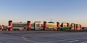 Khrabrovo Airport - Image: Kaliningrad 05 2017 img 76 Khrabrovo Airport