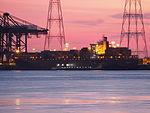 Kalliopi R.C. (ship, 1991) by night, IMO 8902565, MMSI 636016907, Callsign D5IJ3, Port of Antwerp.JPG