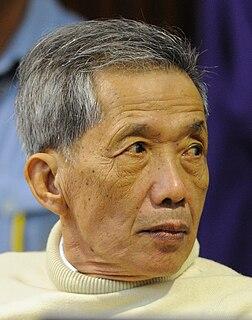 Kang Kek Iew war criminal and former leader in the Khmer Rouge
