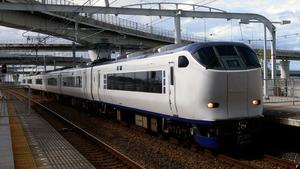 Kansai Airport Line - Kansai Airport Limited Express Haruka at Rinkū Town Station