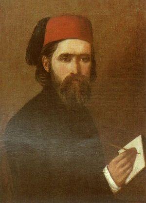 Vjekoslav Karas - Vjekoslav Karas, Self-portrait