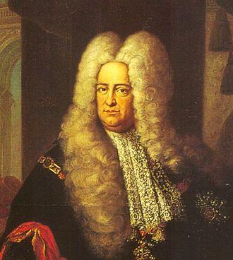Jakob Greber - Greber's patron Charles Philip