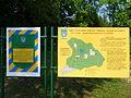 Karpaty Mukachivskyi Zakarpatska-botanical garden-Park sanatorium Carpathians-boards.jpg