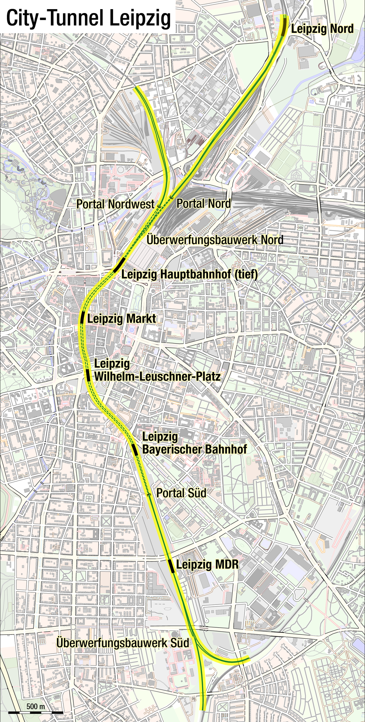 Leipzig City Tunnel Wikipedia