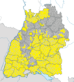 Karte Gemeinden Baden-Württemberg Juni 2014 Artikel alswiki.png