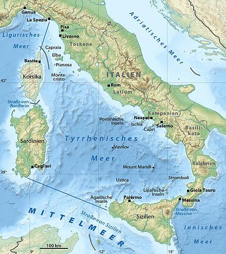 Tyrrhenisches Meer Wikipedia