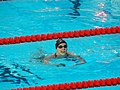 Kazan 2015 - Katie Ledecky wins 400m freestyle.JPG