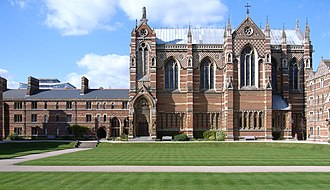 William Butterfield - Keble College Chapel, Oxford